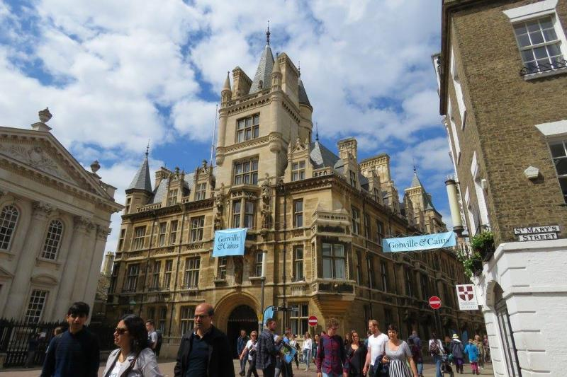 Gonville and Caius Collegeのイメージ写真です。