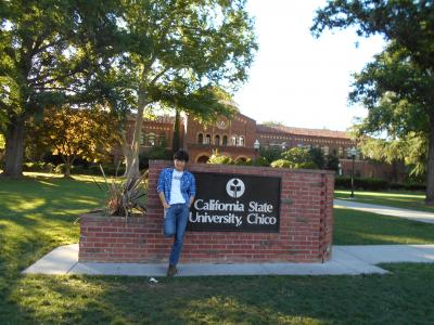 Me with Chico State