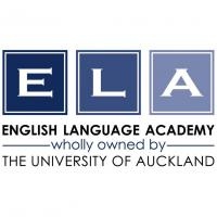 The University of Auckland English Language Academy (ELA)のロゴです
