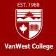 バンウェスト・カレッジ・バンクーバー校のロゴです
