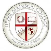 Upper Madison College, Montrealのロゴです