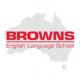 ブラウンズ・イングリッシュ・ランゲージ・スクール・ゴールドコースト校のロゴです
