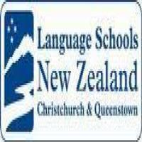 Language Schools New Zealand, Queenstownのロゴです