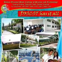 Davao Oriental State College of Science and Technologyのロゴです